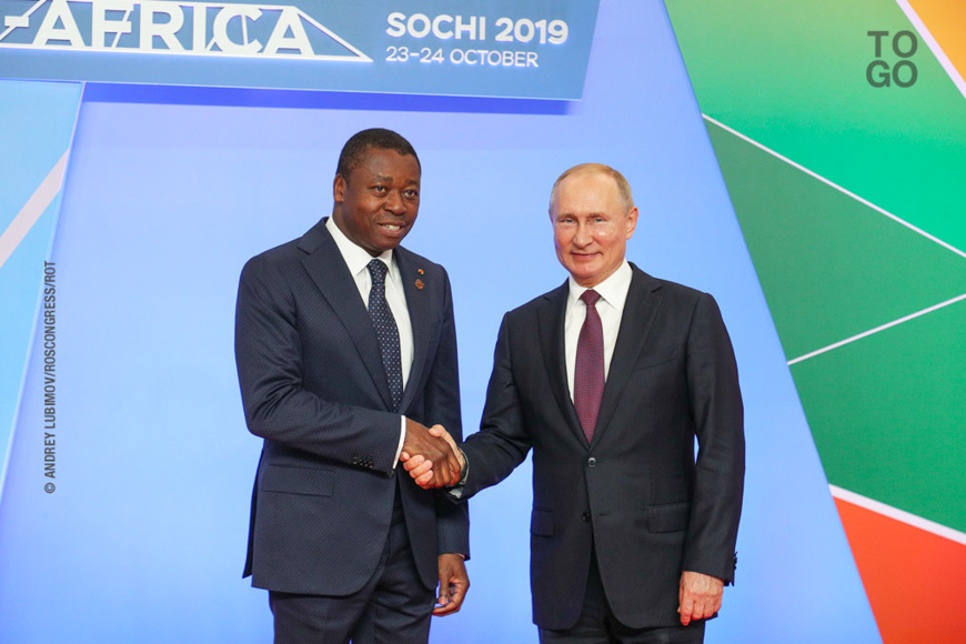 Togo-Russie : Vers l'abolition mutuelle des visas diplomatiques