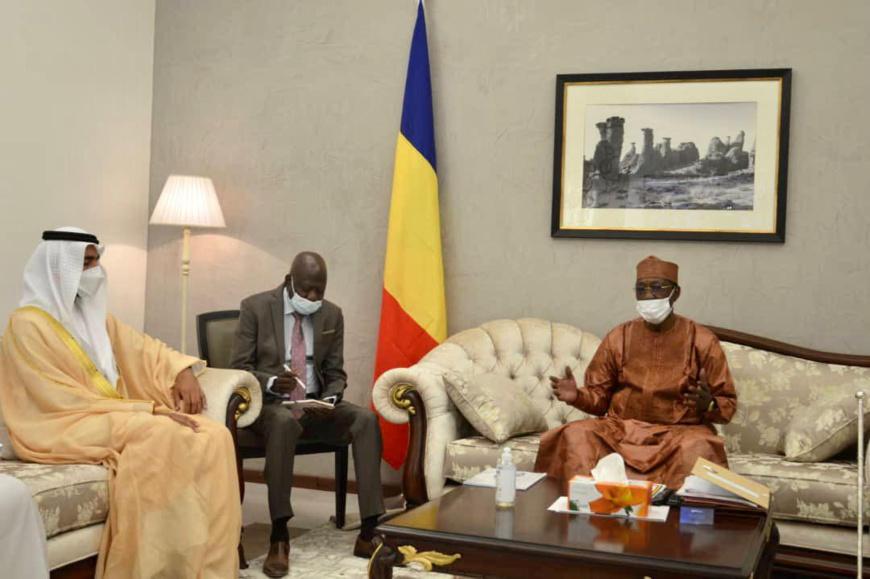 Tchad : Idriss Deby a reçu une délégation émiratie
