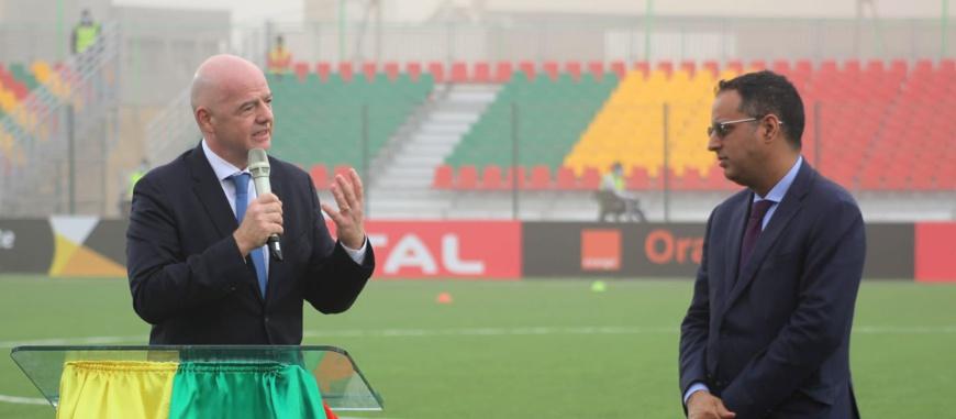 FIFA : Le président Infantino entame sa tournée africaine par la Mauritanie