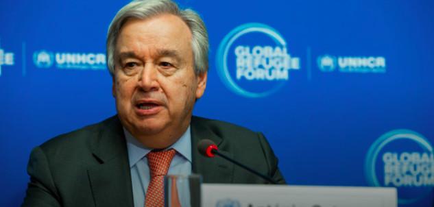 Le secrétaire général de l'ONU, António Guterres. © HCR/Pierre Albouy