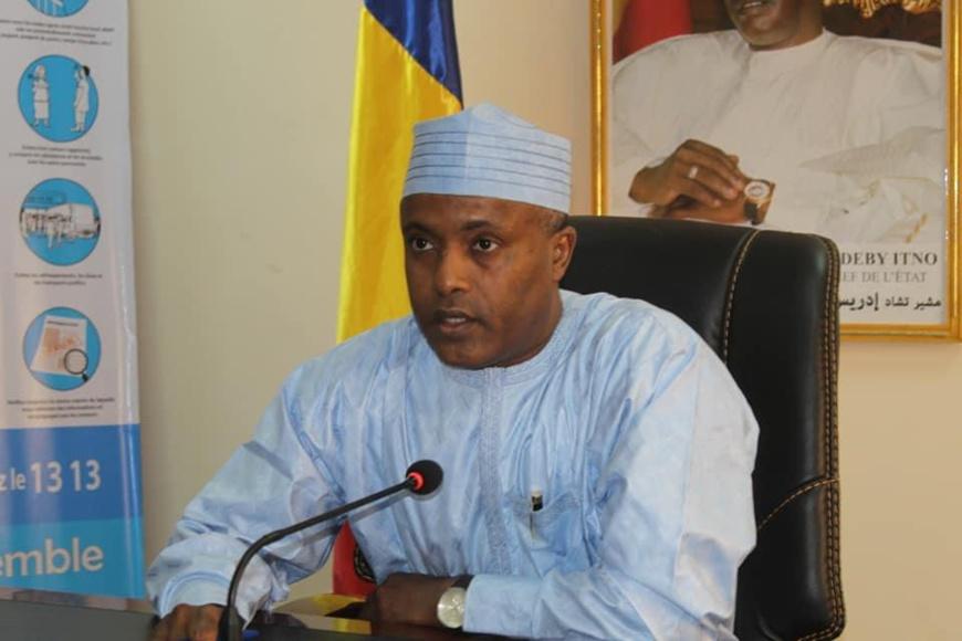 Tchad : Le ministre de la Santé a pris part à une séance d'information sur le vaccin contre le Covid-19