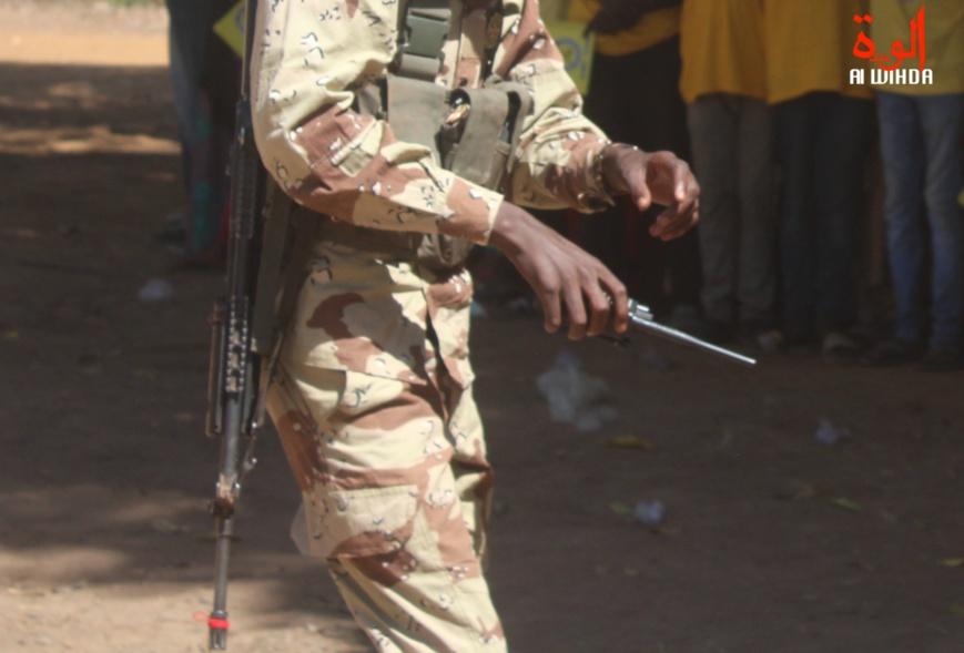 Un militaire au Tchad. Illustration © Malick Mahamat/Alwihda Info