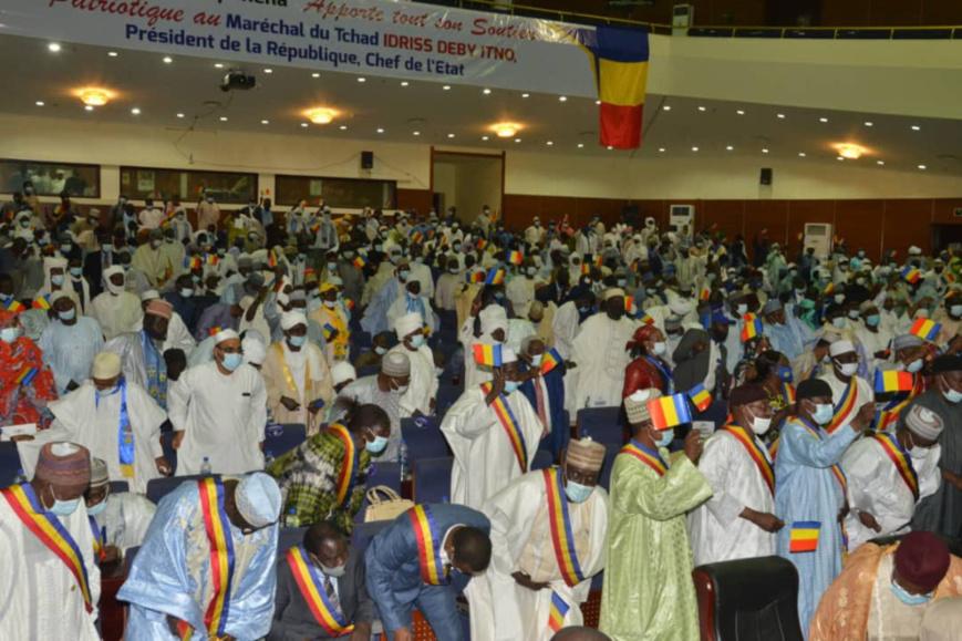 Tchad : le chef de l'État invite la population au