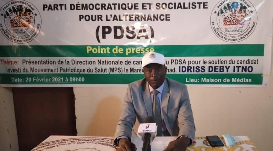 Tchad : le PDSA met en place une direction nationale de campagne pour la présidentielle