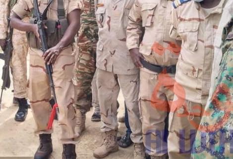 Des forces de la gendarmerie. ©Ben Kadabio/Alwihda Info