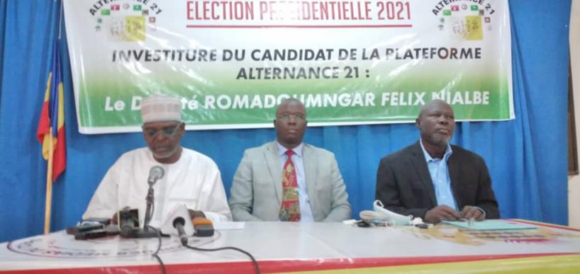 Tchad : Alternance 21 investit Félix Nialbe pour la présidentielle