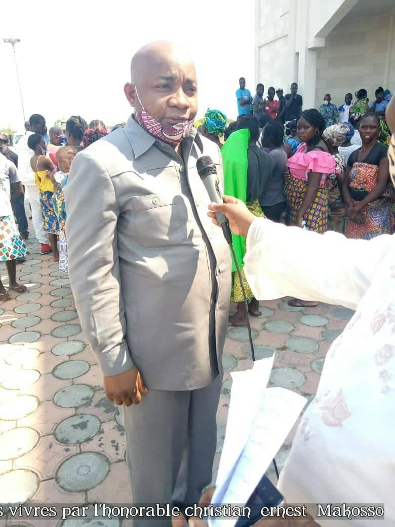 Le député Christian Ernest Makosso