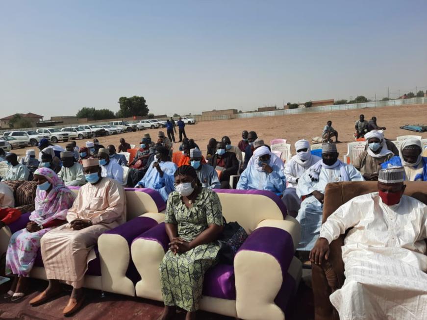 N'Djamena : les travaux de construction d'un grand château d'eau lancés à Guinebor