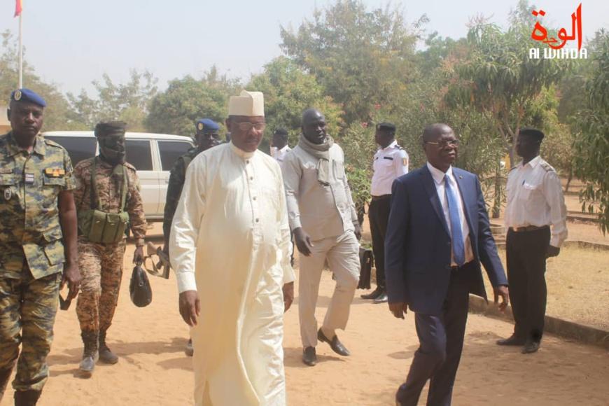 Adoum Forteye Amadou à Pala. © Malick Mahamat/Alwihda Info
