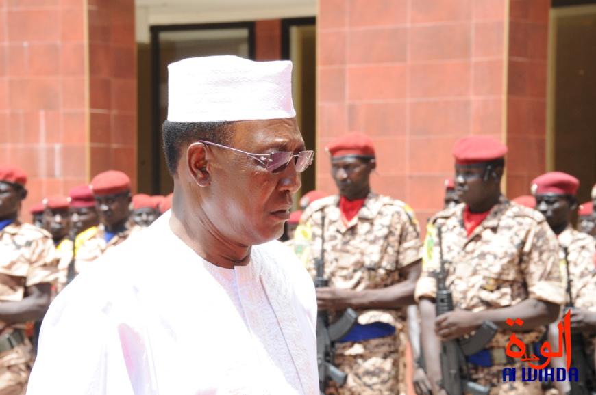 """Tchad : """"vous avez une armée purement nationale, une vraie armée"""", assure Idriss Deby"""