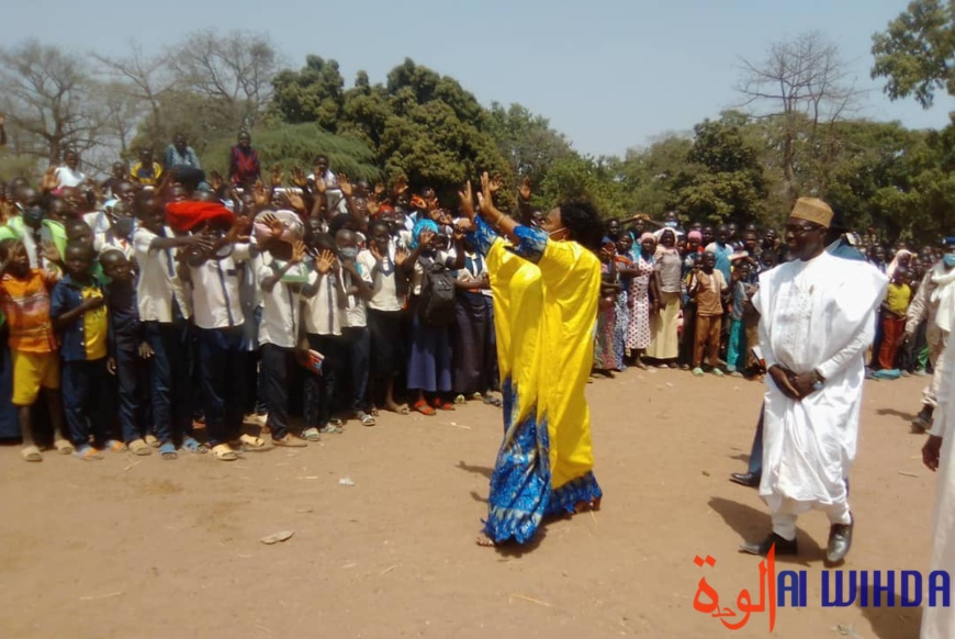 Tchad : la gouverneure du Mandoul en tournée dans sa province