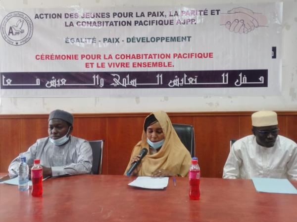 Tchad : l'AJPP milite auprès des jeunes pour la cohabitation pacifique et le vivre ensemble