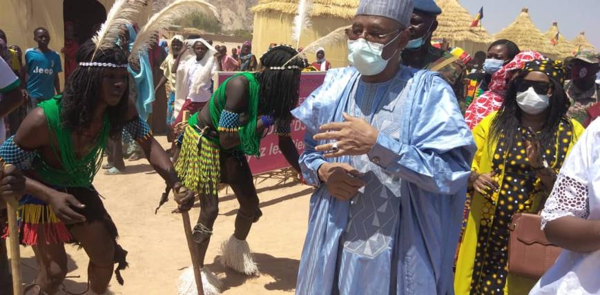 Tchad : Présentation des foires provinciales au stade Idriss Miskine de Mongo