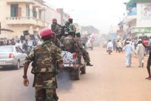 Des militaires de la Séléka dans les rues de Bangui. Crédits photos : Diaspora media