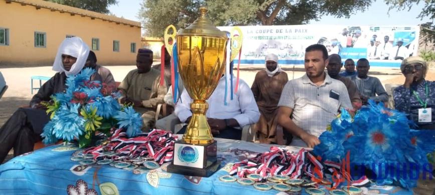 """Tchad : Young Diplomats a organisé la compétition """"Jouons pour la paix"""" à Mongo"""