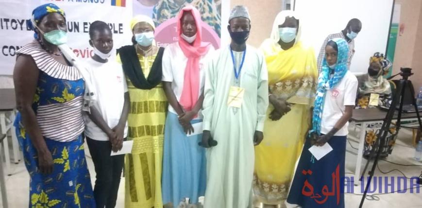 Tchad : des collégiennes participent à un concours d'art oratoire à Mongo