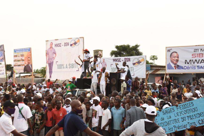 La Lekoumou mobilisée pour soutenir Denis Sassou N'Guesso.