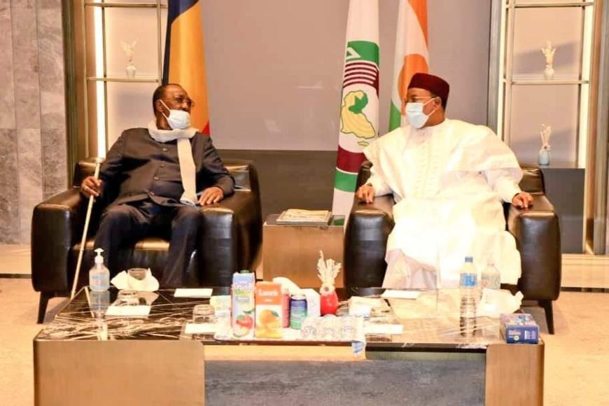 Le président tchadien en déplacement au Niger