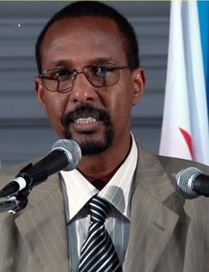 Le président du MRD et porte-parole de l'USN (coalition de l'opposition), Daher Ahmed Farah. Credits photos : Sources