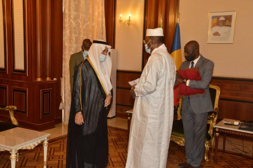 Tchad : L'ambassadeur d'Arabie Saoudite élevé au grade d'Officier de l'ordre national du Tchad