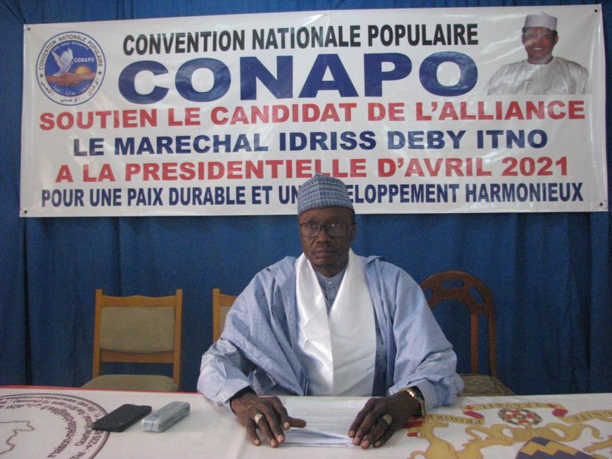 Présidentielle au Tchad : la CONAPO apporte son soutien au MPS