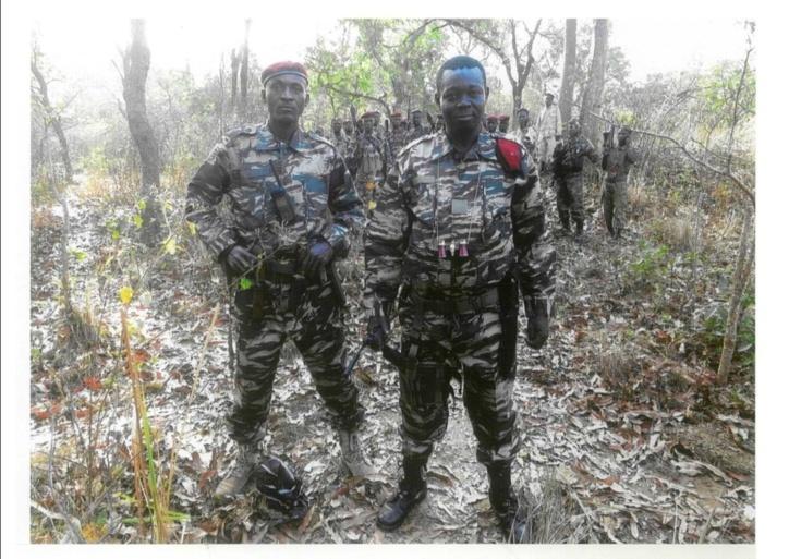 Abdoulaye Miskine, leader du FDPC. Centrafrique.