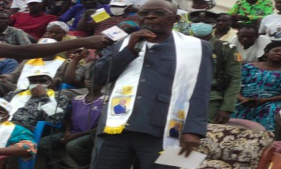 Tchad : le candidat Félix Nialbé lance sa campagne électorale à Sarh