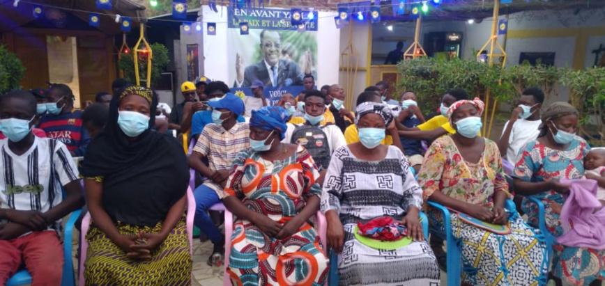 """Tchad : Le bureau """"En Avant Yalla"""" (MPS) sensibilise sur sa stratégie de campagne de proximité"""