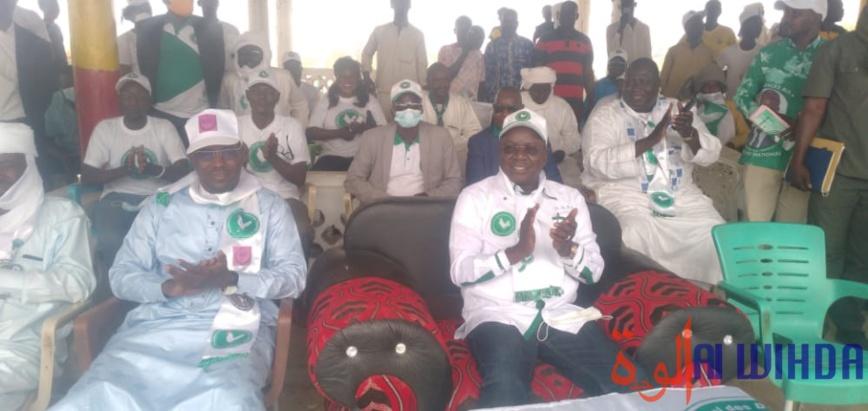 Élections au Tchad : Pahimi Padacké Albert en meeting à Biltine