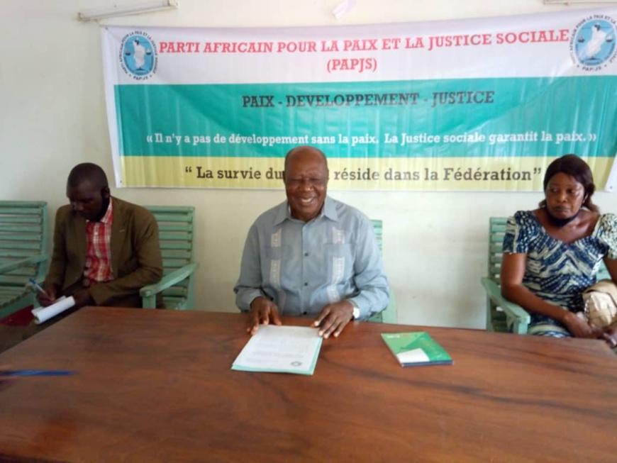 Tchad : le PAPJS appelle à l'alternance au sommet de l'État