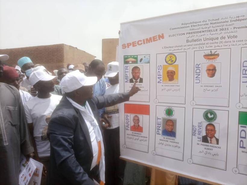Tchad : les citoyens incités à retirer les cartes d'électeurs