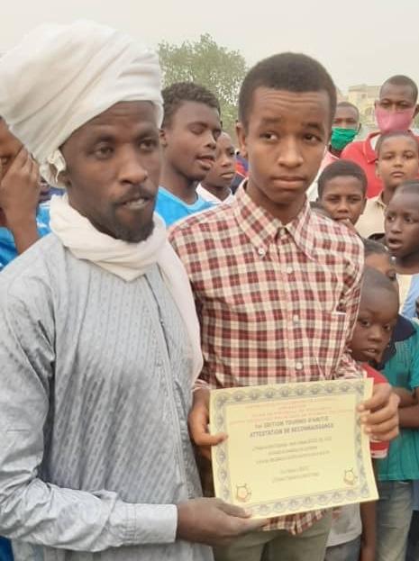 """Tchad : l'école de football """"Panthère Edibou"""" a organisé sa compétition à N'Djamena"""