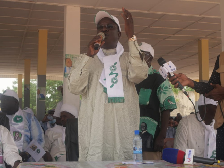 Élections au Tchad : Pahimi Padacké Albert mobilise les électeurs en province
