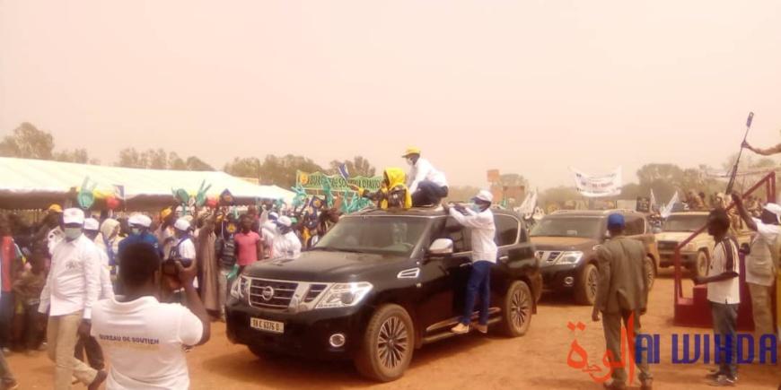 Tchad : en meeting à Pala, Hinda Deby met en garde contre