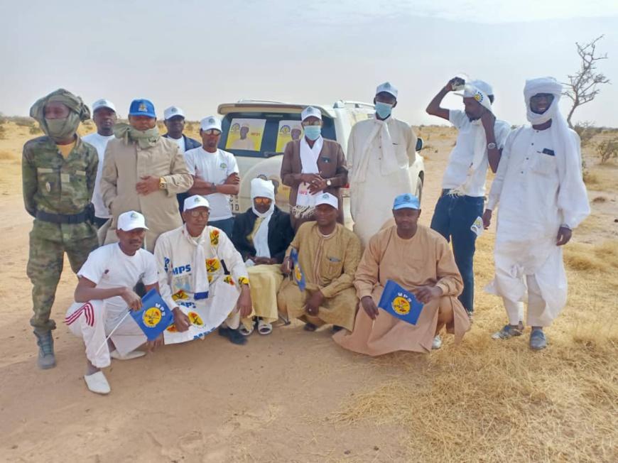 """Élections au Tchad : """"Les démocrates"""" installent leur sous-coordination à Tine et Abéché"""