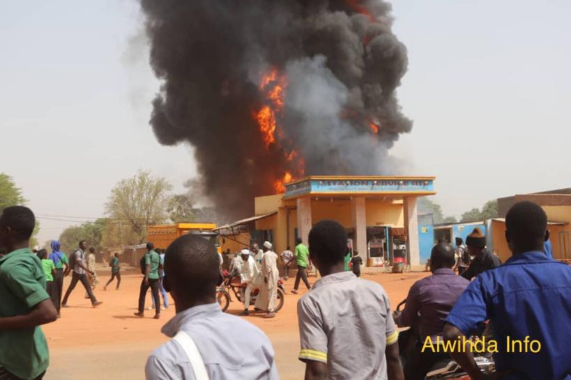 Tchad : des pillages à Moundou suite à l'incendie d'une station-service