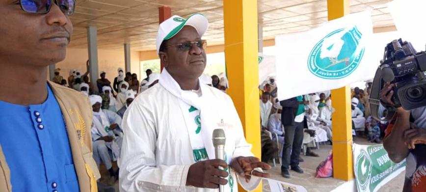 Présidentielle au Tchad : le candidat Pahimi Padacké Albert en meeting à Moussoro