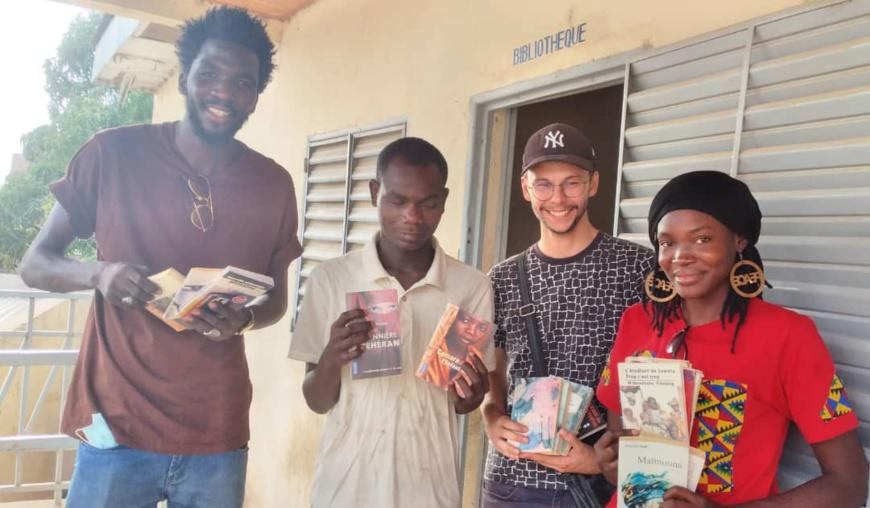 N'Djamena : le centre des ressources pour aveugles reçoit un don de livres