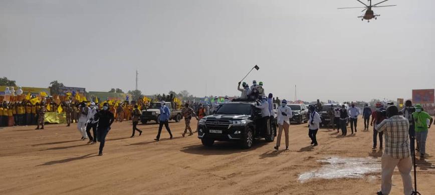Élections au Tchad : le candidat du consensus Idriss Deby est à Bongor