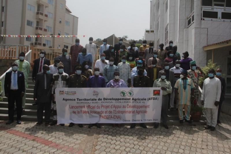 Bénin : démarrage du projet d'appui au développement de la filière anacarde et de l'entreprenariat agricole