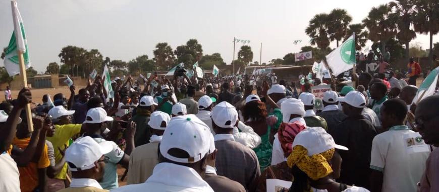 Présidentielle au Tchad : le candidat Pahimi Padacké en campagne à Moundou