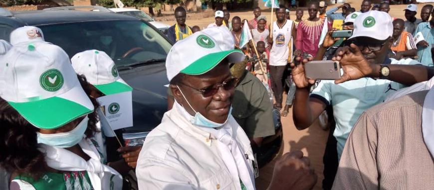 """Élections au Tchad : Pahimi Padacké affirme qu'il y a """"des candidats fabriqués pour diviser"""""""