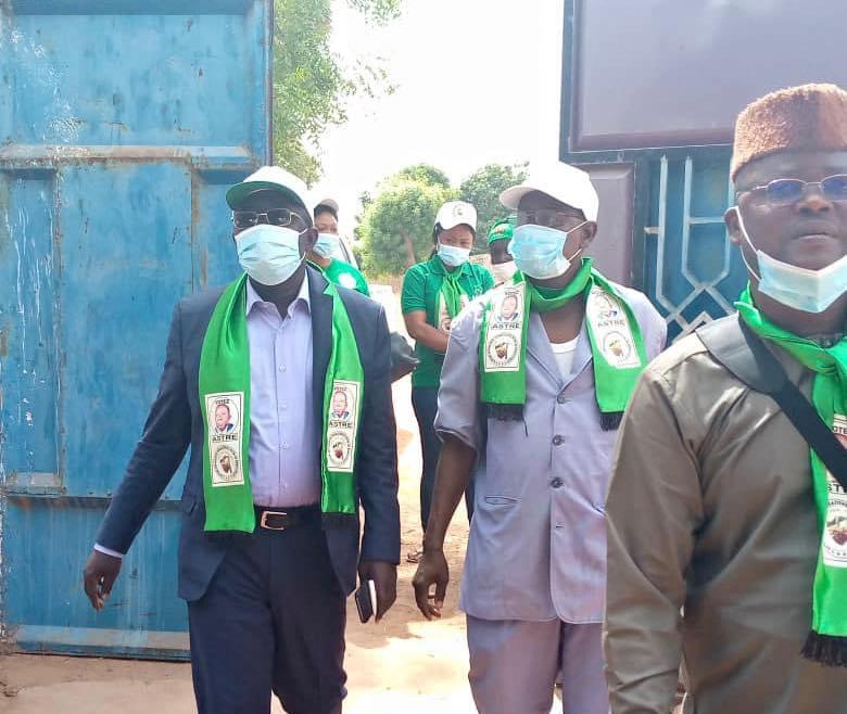 Élections au Tchad : le candidat Alladoum Djarma Balthazar en campagne à Kélo