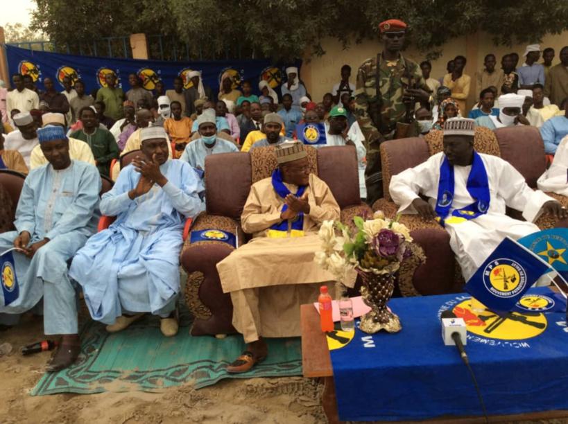 Élections au Tchad : le chef de mission Adoum Forteye en meeting à Ngouri et Kouloudia