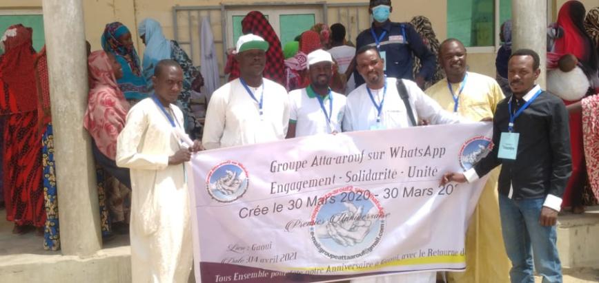Tchad : le groupe Atta-Arouf assiste les retournés du site de Gaouï