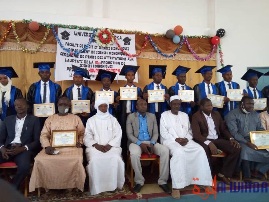 Tchad : remise d'attestations de fin d'études à l'Université Adam Barka