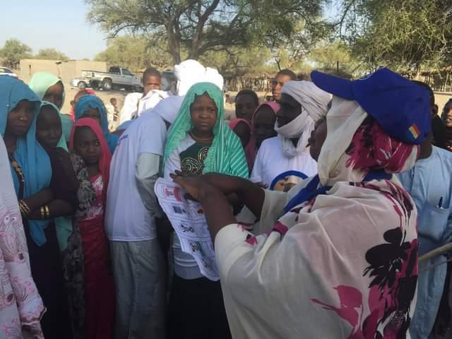 Élections au Tchad : sensibilisation de proximité dans les villages du Hadjer Lamis
