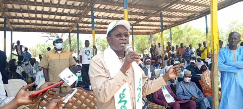 """Tchad : """"ceux qui veulent le changement, la prospérité, voteront pour Pahimi Padacké"""""""