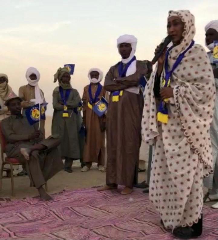 Tchad : Mansoura Hamid Nouri en campagne à Kouba Olanga