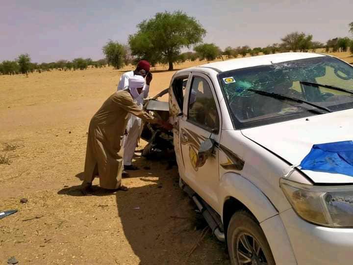 Tchad : un véhicule d'une mission du MPS percute un arbre au Batha